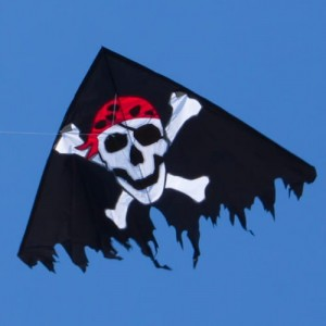 Latawiec JOLLY ROGER BLACK - PIRACKA FLAGA